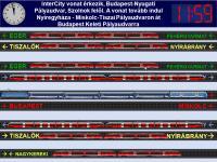 Debrecen állomás átszállási rendszere