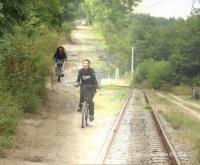 Kerékpárral a vasútért