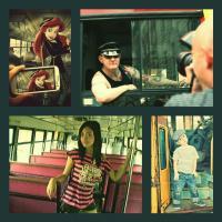 Pózolj busszal, villamossal