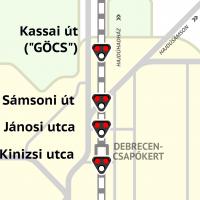 Sámsoni út: A vasút elválaszt, vagy összeköt?